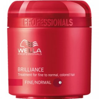 Wella Brilliance Mask für feines bis normales, coloriertes Haar 150 ml