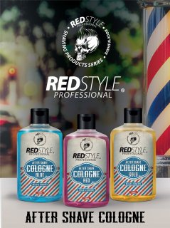 Redstyle Aftershave Barber Cologne Red 250 ml